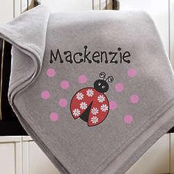 Personalized Sweatshirt Blanket for Girls