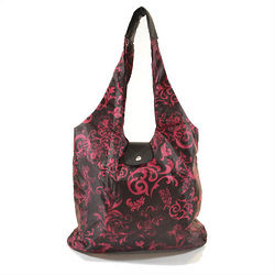 Pink Victoria Italia Shopper Reusable Tote