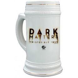 Dark Matters Logo 2 Ceramic Stein