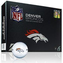 Personalized Denver Broncos Golf Balls