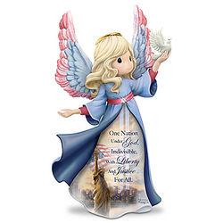 Precious Moments Thomas Kinkade Sep 11 Tribute Angel Figurine