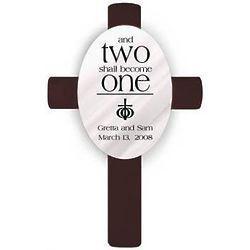 Personalized Ephesians 5 Wedding Cross