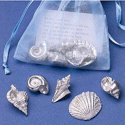 Bag of Seashell Charms