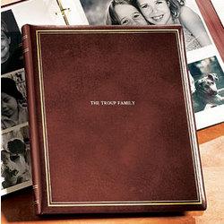 Presidential Oversized Leather Photo Album