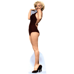 Marilyn Monroe, 'Black Swimsuit' Cutout