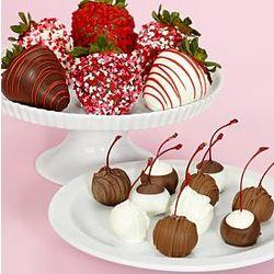 6 Sweetheart Berries and 10 Sweet Cherries