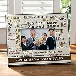 Court Cases Personalized Frame