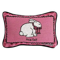 Nice Tail Word Pillow