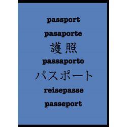 Multi Language Passport Wallet