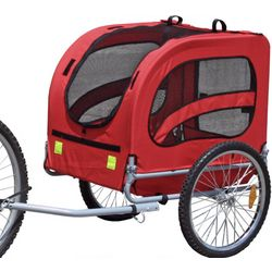 Easy Assemble Dog Bike Trailer