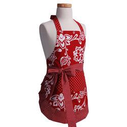 Girl's Original Sassy Red Apron