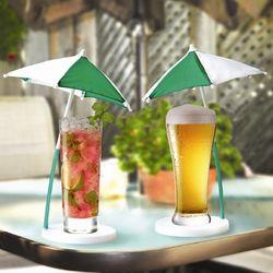 Cocktail Umbrella Coaster Set