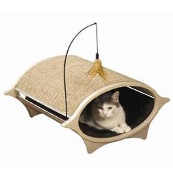 Cat Eye Cat Bed and Scratcher