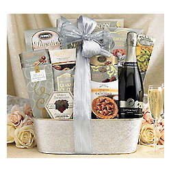 Yellow Tail Bubbles Sparkling Wine Gift Basket