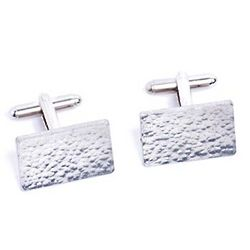 Tenth Anniversary Tin Cufflinks