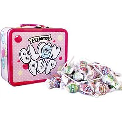 Blow Pops Metal Lunch Box with Candy