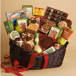 Hearthside Deluxe Snack Basket