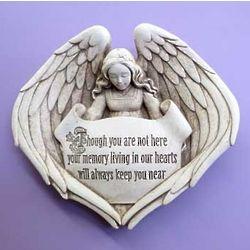 Angel Memorial Plaque