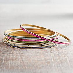 Mother of Pearl Bangles Set