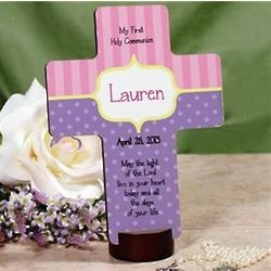 Personalized My First Communion Cross