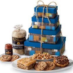 Father's Day Sweets and Snacks Gift Tower