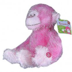 Trembles the Pink Plush Monkey