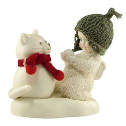 Snowbaby Snow Cat Figurine