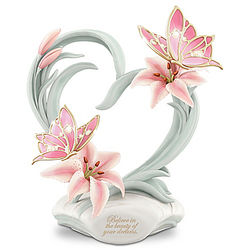 Beauty of Your Dreams Heirloom Porcelain Butterfly Figurine