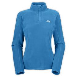 Women's TKA 100 Microvelour Glacier 1/4 Zip Fleece Pullover