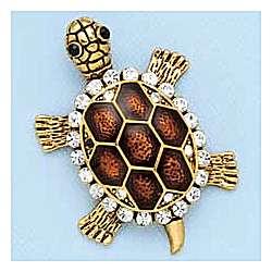 Charming Turtle Pin