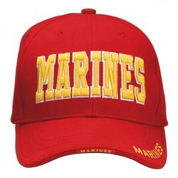 Marines Text Deluxe Cap