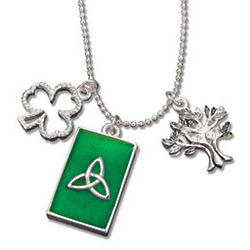 Tree of Life 3 Charm Necklace