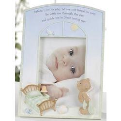 Baby's Angel Bear Photo Frame