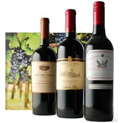 90+ Point Rated Cabernet Wine Gift Trio