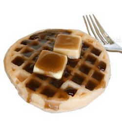 Waffle and Syrup Soap