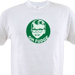 Oh Fudge A Christmas Story T-Shirt