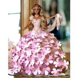 Elegant Edible Pink Hydrangea Flowers