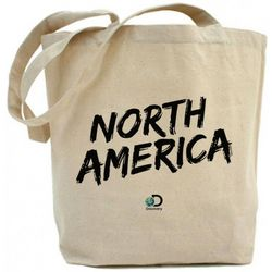 North America Logo Tote Bag