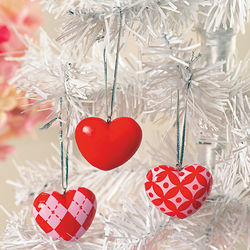 Valentine's Tree Ornaments