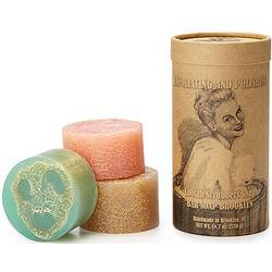 Loofah Scrubber 3-Piece Soap Set