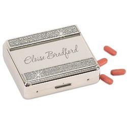 Glamour Glitter Eight Day Pill Box