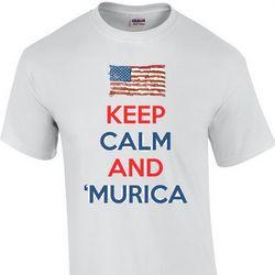 Keep Calm and 'Murica T-Shirt