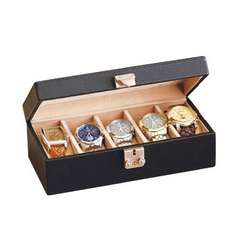 Deluxe Leather Watch Box