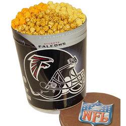 Atlanta Falcons 3 Way Popcorn Tin