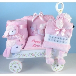 Puppy Love Deluxe Wagon for Baby Girl