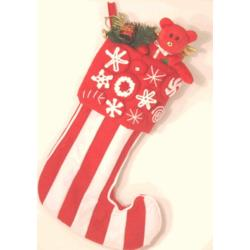 "18"" Peppermint Stocking"