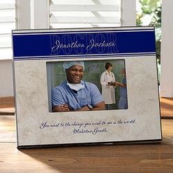 Inspiring Medicine Personalized Frame