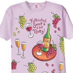 Full Bodied Wine Nightshirt