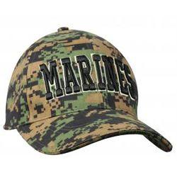 Marines Text Digital Camo Cap