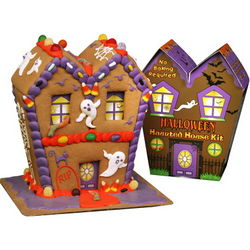 Halloween Haunted Gingerbread House Kit